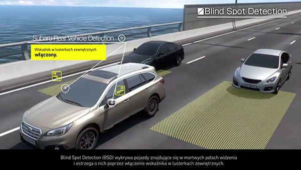 SRVD (Subaru Rear Vehicle Detection)